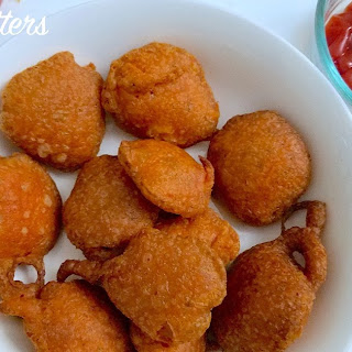 POTATO FRITTERS (BHAJI/PAKORAS) Gluten free