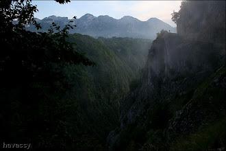 Photo: A Duzi út a Nevidio felett.