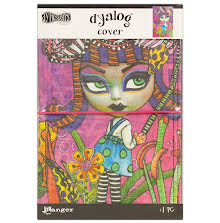 Dylusions Dyalog Cover 5.875X8.75 - Believe