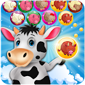Farm Animal Bubbles icon