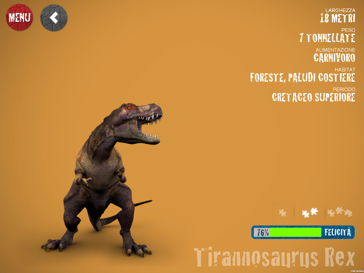 3Dino - The world of dinosaurs- screenshot