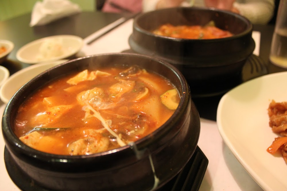 Soft Tofu as part of Combo #1 at Windsor Seoul (순두부)