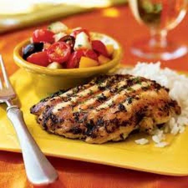 Basil Grilled Chicken Recipe