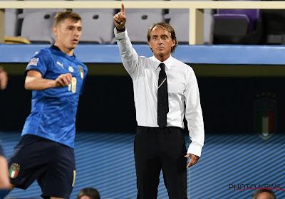Roberto Mancini appelle 33 joueurs pour l'amical à venir face à Saint-Marin