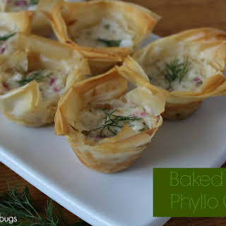 Baked Crab Phyllo Cups 0.