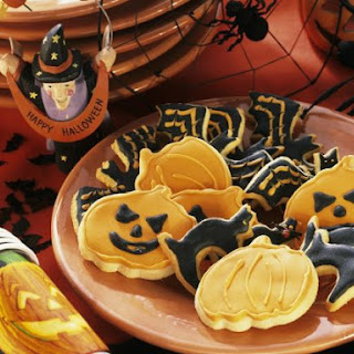 Spooky Cookie Plate