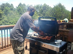 Photo: the ultimate grillmaster