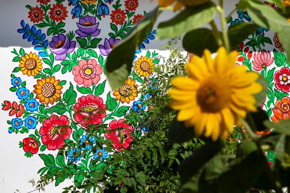kwiaty, malowidła