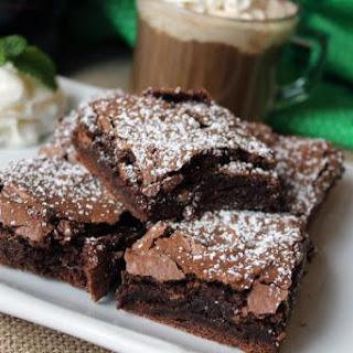 Baileys Brownies.