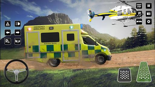 Heli Ambulance Simulator 2020: 3D Flying car games 1.12 screenshots 17