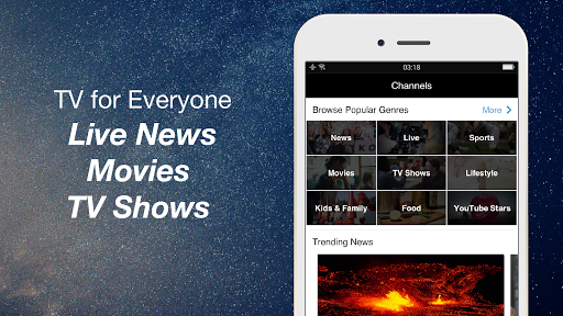 FREECABLE TV App: Free TV Shows, Free Movies, News 6.97 screenshots 3