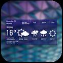 Clock Weather Widget - Apex icon