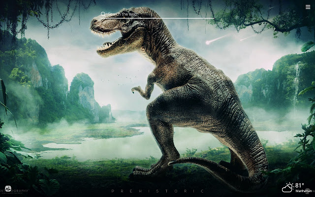 Dinosaurs HD Wallpapers New Tab Theme