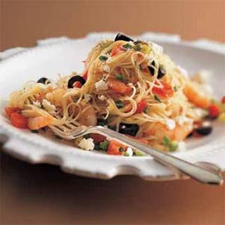 Shrimp Feta Cheese Angel Hair Pasta Recipes