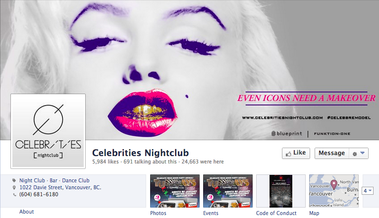 Facebook marketing for bars nightclubs create buzz by using wishpond social promotions malvernweather Images