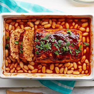 Turkey Meatloaf & Beans