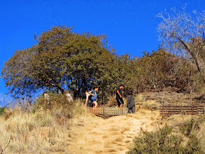 Photo: I soon find that there are tons of people on Garcia Trail today…hundreds! Its popularity has exponentially increased in recent years.