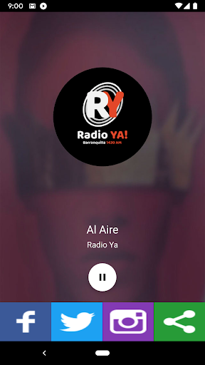 Radio Ya screenshot 1