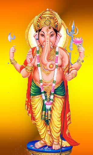 Lord Vinayaka Live wall paper