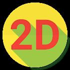 Myanmar 2D 3D icon