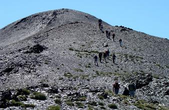 Photo: El primer pico anda cerca.