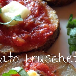 Potato Bruschetta