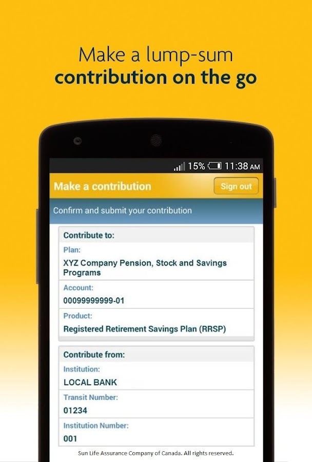 my Sun Life (Canada) - Android Apps on Google Play