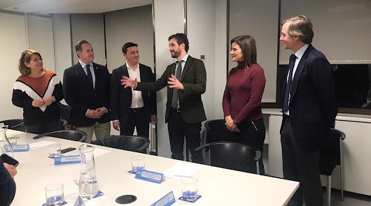 El PP incorpora a su agenda política las propuestas de alcaldes de Almería