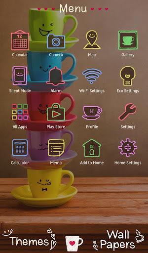 Rainbow Mugs Theme 1.0.0 Windows u7528 2