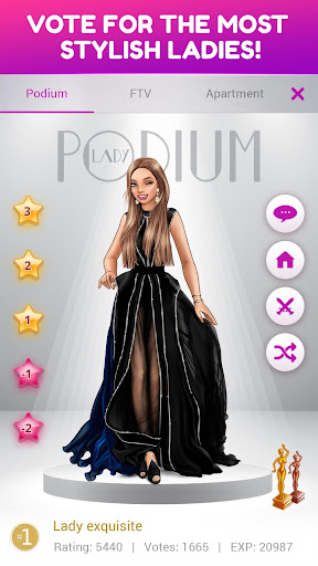 Lady Popular: Fashion Arena apkdebit screenshots 8