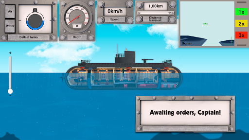 Nuclear Submarine inc - Indie Hardcore Simulator - screenshot
