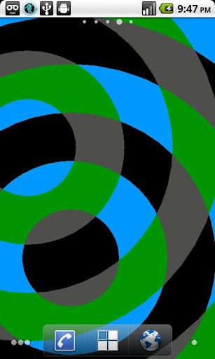 Interfering Circles LWP screenshot 3