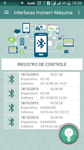 Interface Bluetooth Control screenshot 0
