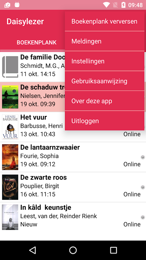 Daisylezer: screenshot