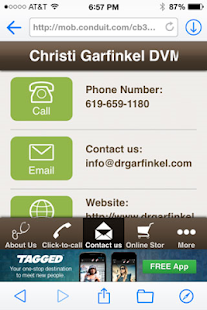 Christi Garfinkel DVM- screenshot thumbnail