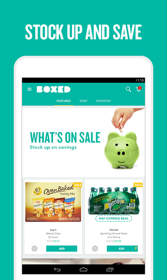 Boxed Wholesale- screenshot
