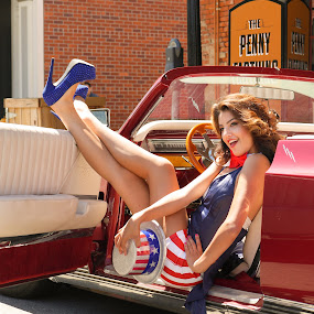 All American Pinup by Dirk Dreyer - People Portraits of Women ( all american pinup, captiol city shooters )