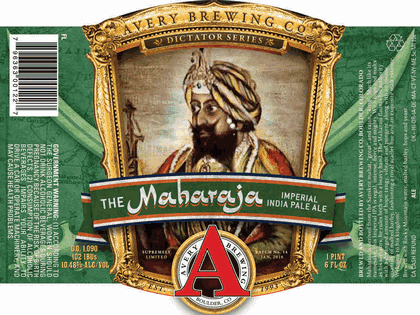 Logo of Avery The Maharaja Imperial IPA