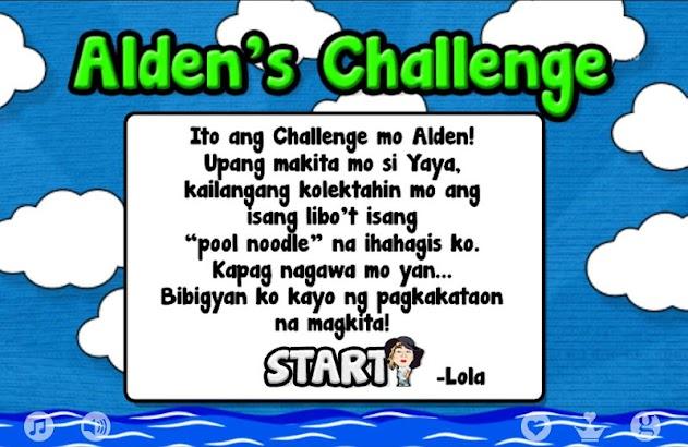Alden's Challenge - AlDub Game screenshot