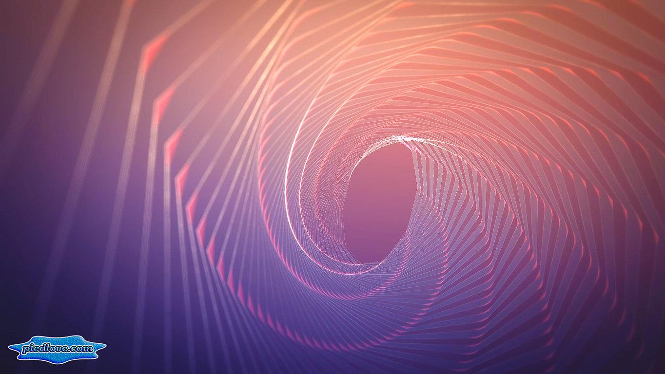 DNA Purple Hypnotic 3D Tunnel- screenshot