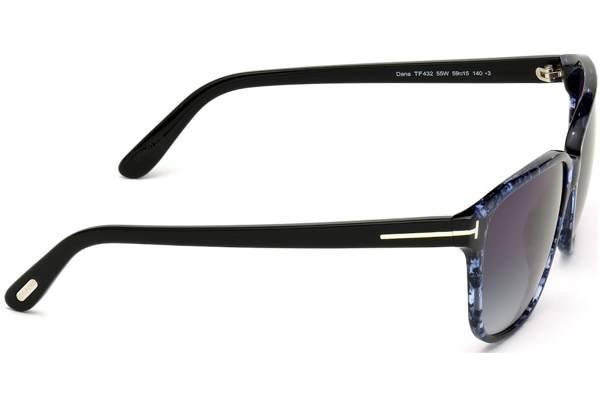 2fe14d8b377 Sunglasses Tom Ford Dana FT0432 C59 55W (coloured havana   gradient blue)