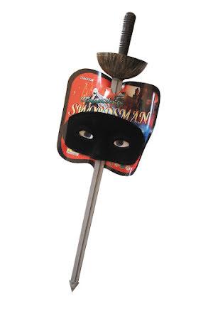 Zorrosvärd med mask, barn