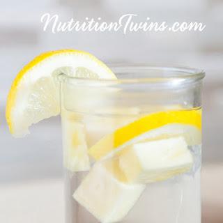 """Pineapple Lemon Ginger """"Detox"""" Drink"""