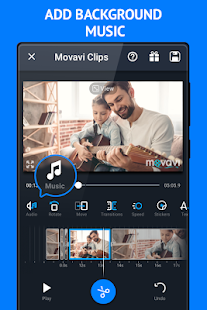 Movavi Clips Video Editor Screenshot