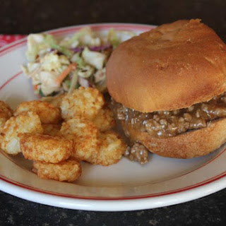 Spoon Burgers (Sloppy Joe Burgers)
