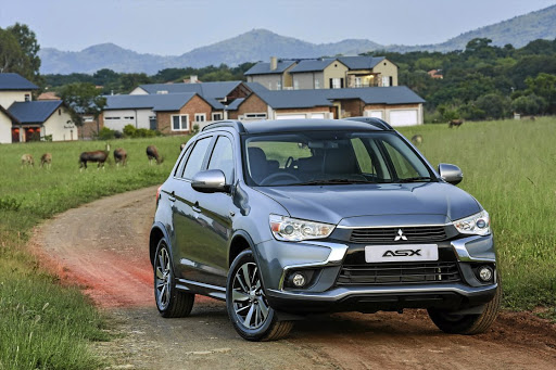 The ASX has received a few cosmetic changes, mostly up front.    Picture: MITSUBISHI MOTORS