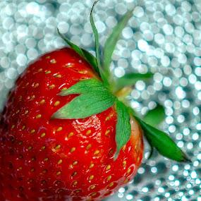 Strawberry by Papri Mazumdar - Food & Drink Fruits & Vegetables