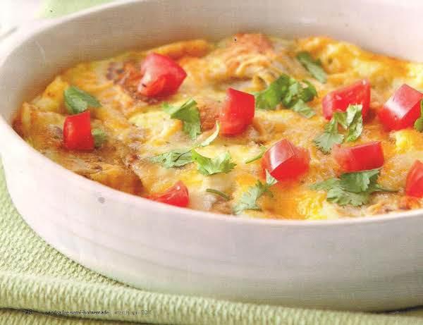 Burrito, Egg, And Cheese Bake. Recipe