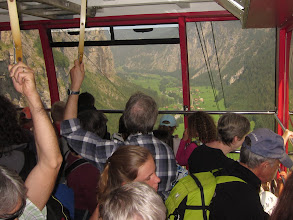 Photo: ... we take the gondola back to Lauterbrunnen, and the end of our Swiss adventure. Coming next, some French and Italian Alps. Stay tuned.