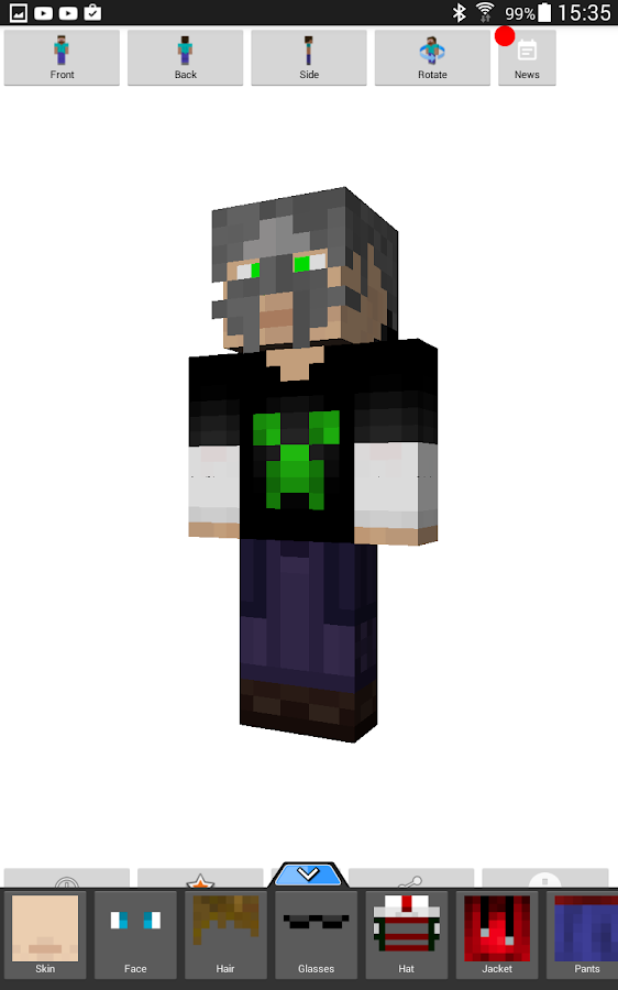 Custom Skin Creator Minecraft Android Apps On Google Play